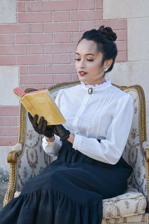 Eleanore white blouse PRE ORDER