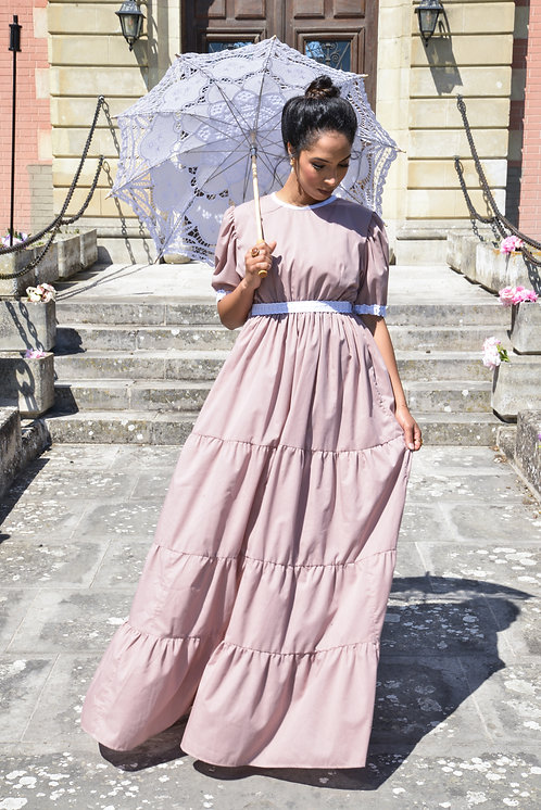 Anabelle dress Dusty pink