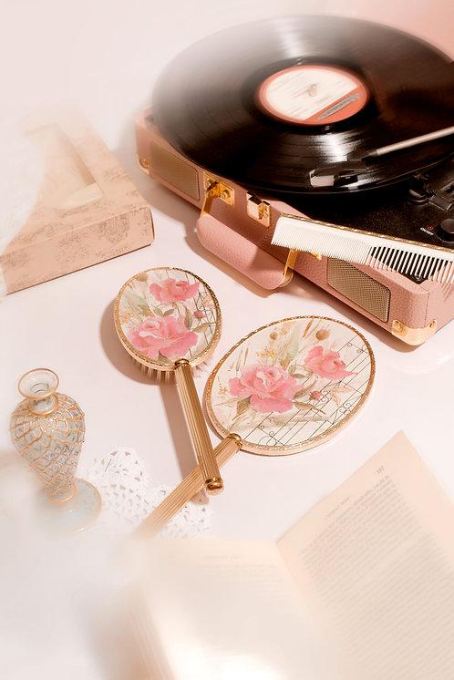 Vintage vanity set 3 pcs