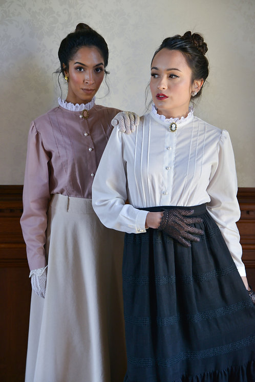 Black Victoria skirt