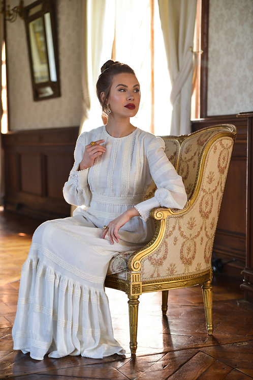 Victoria Ivory Dress