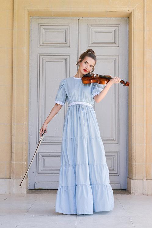 Anabelle Dress Sky blue