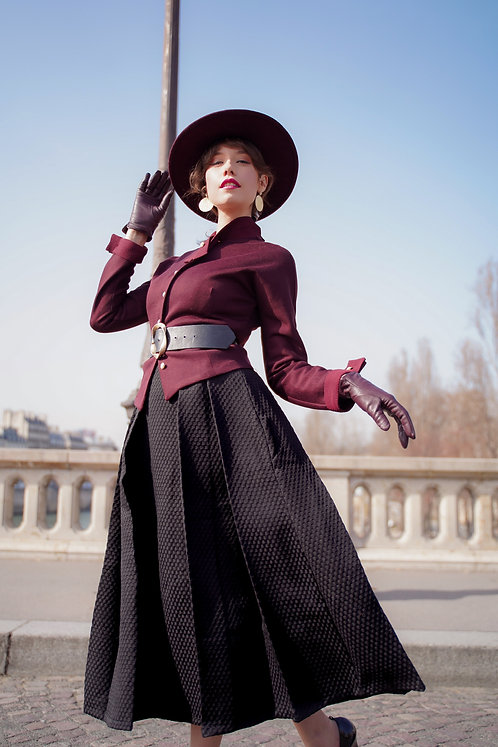 Anna Black Skirt