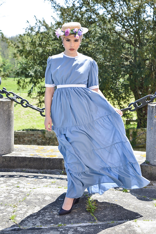Blue Anabelle Dress