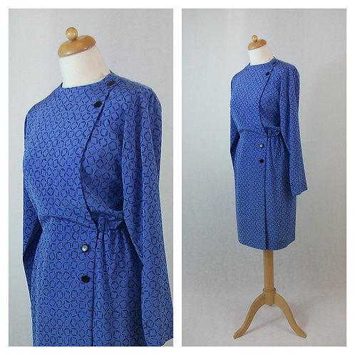 Robe tunique bleue