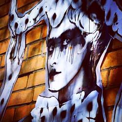 Instagram - newest #stencil closeup..jpg