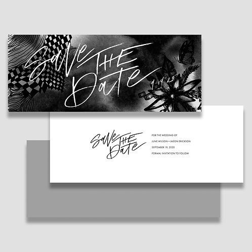 Black Desert Save the Date+ Envelope