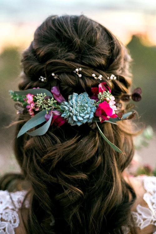 Dainty wedding headband