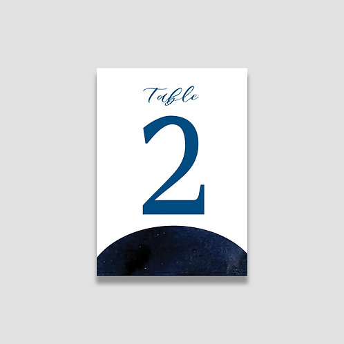 Modern Celestial Table Numbers