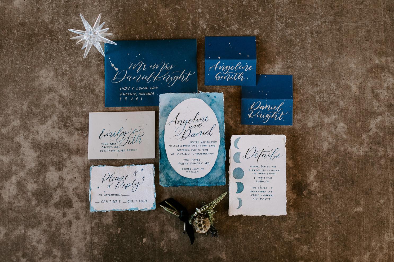 Custom wedding invitations
