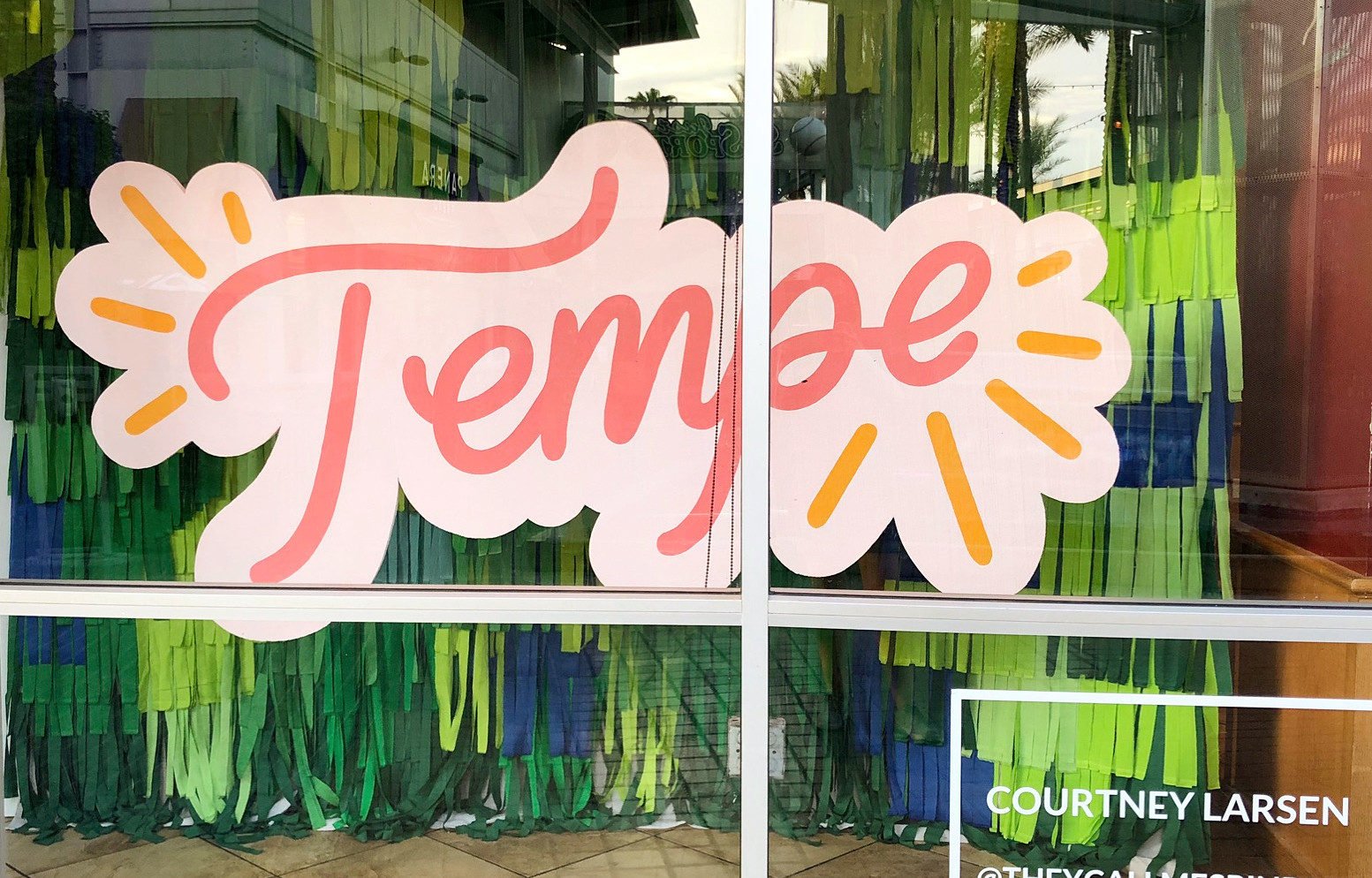 Tempe Marketplace Window Display