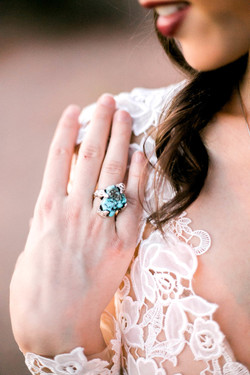 Turquoise ring- They call me Spindle