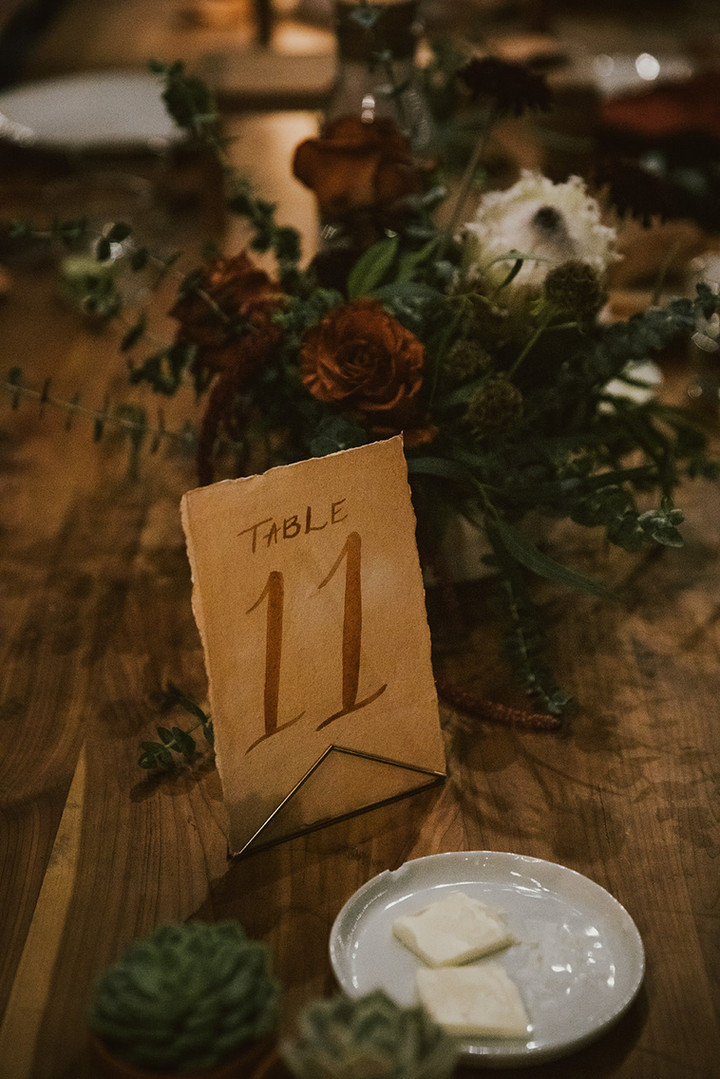 Table Numbers - Custom Painted