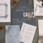 Friends Themed Wedding Invitations