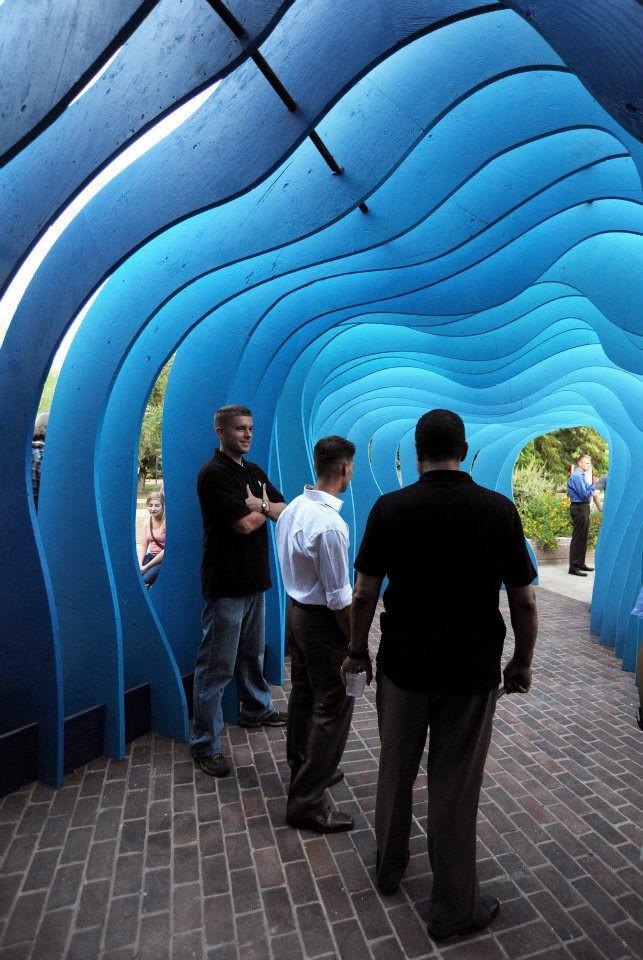 """""""Peritoneum"""" public art sculpture"""