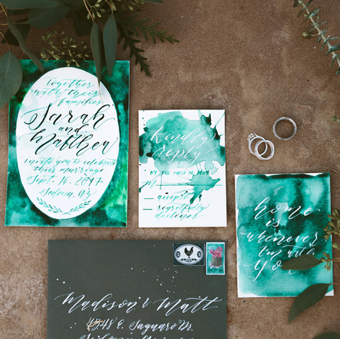 Custom Wedding Stationery- Tips & Tricks