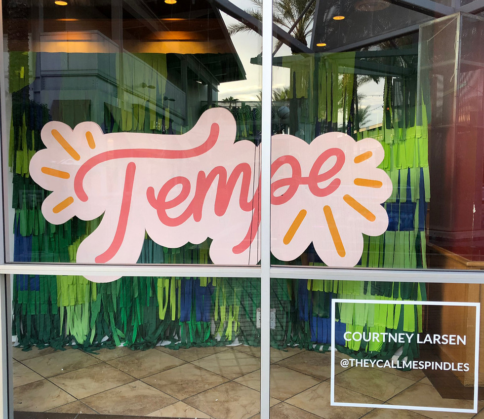 Tempe Window Display