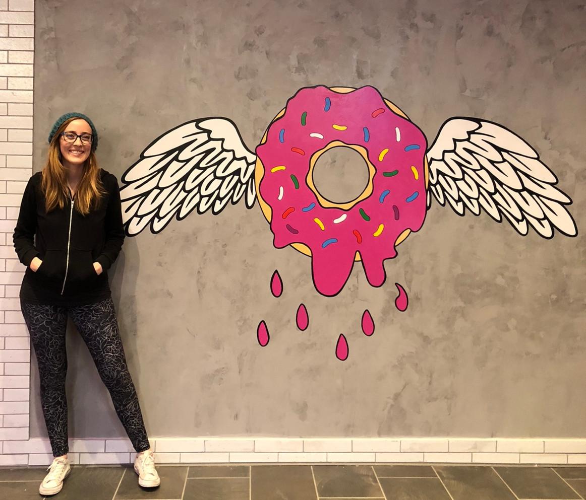 Donut Bar Mural