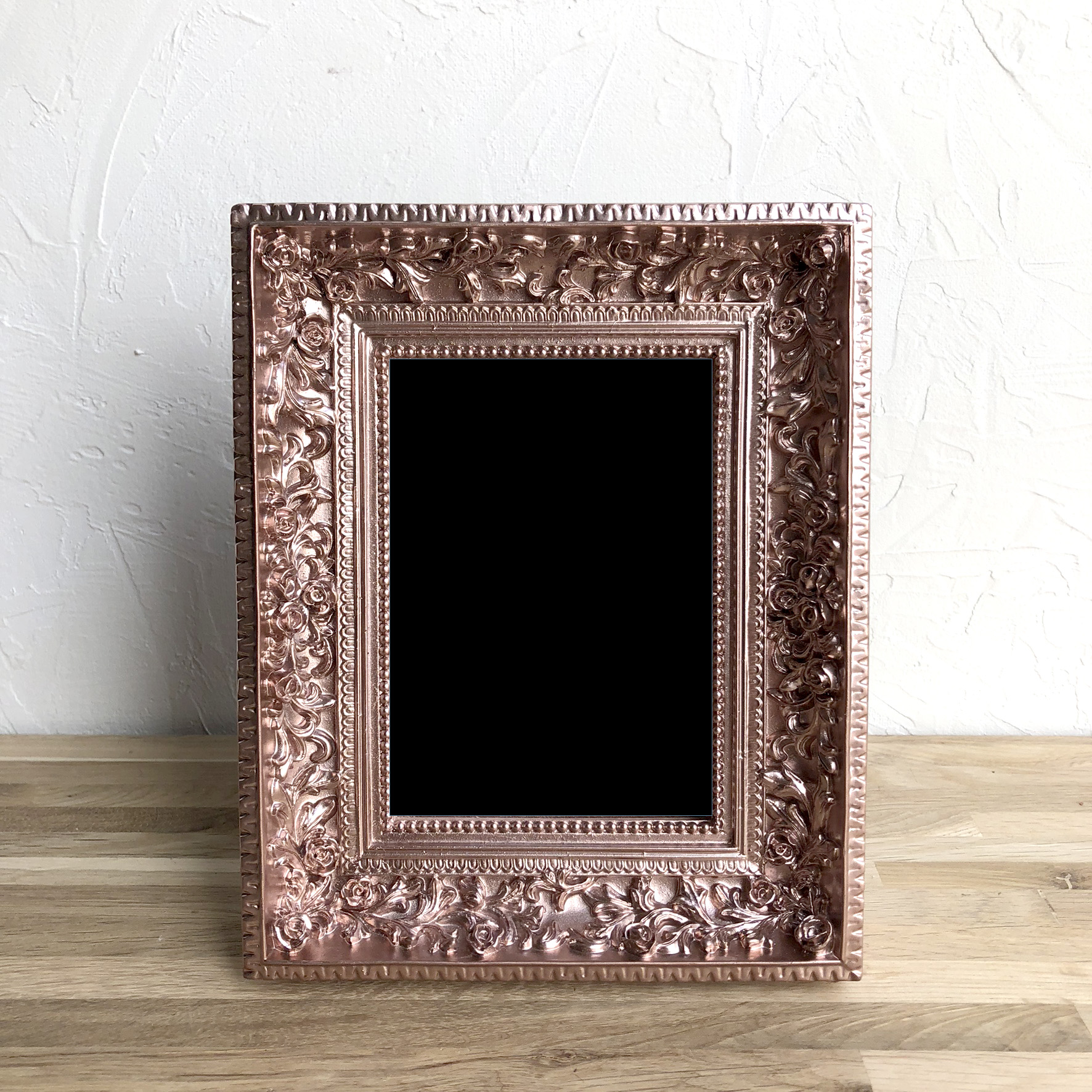Rose Gold Tiny Roses Frame XS