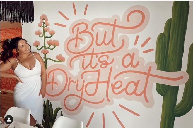 """""""But It's A Dry Heat"""" - Interior Mural"""