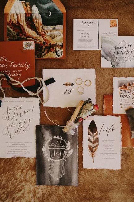 Full Wedding invitation Suite