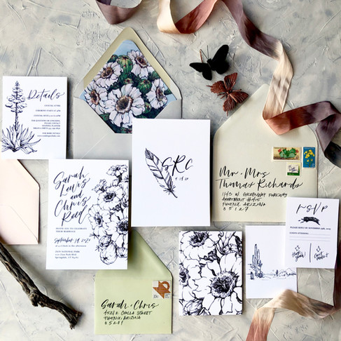 3 Ways to make Semi-Custom Invitations fit your wedding