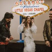 Grunge Glam Vegas Elopement