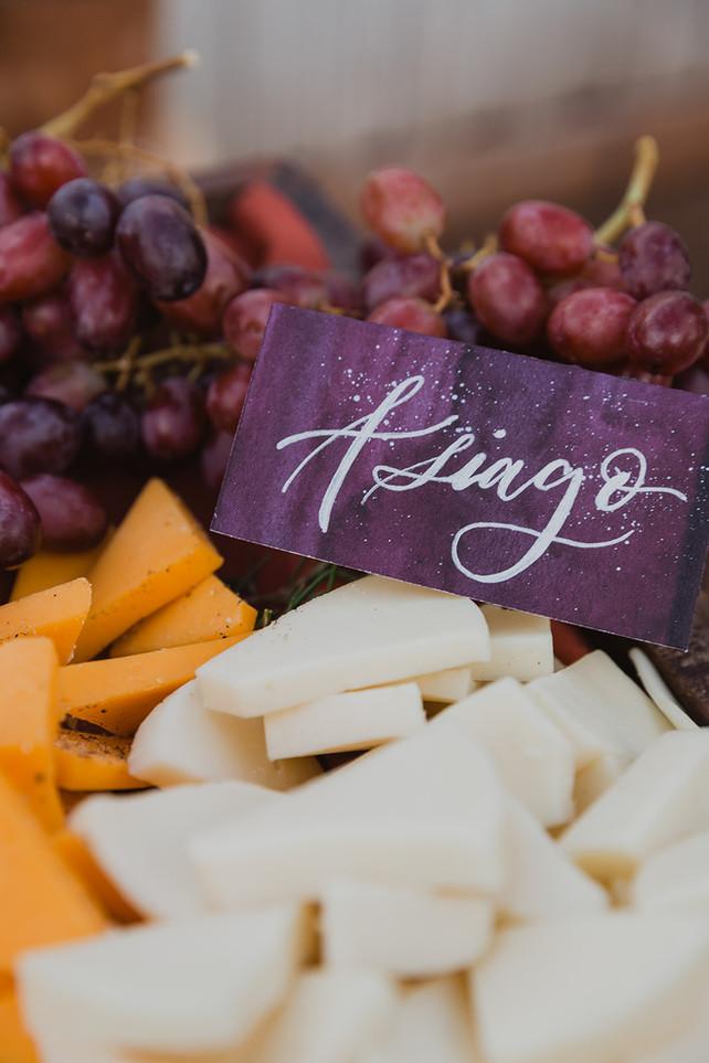Wedding Food Label