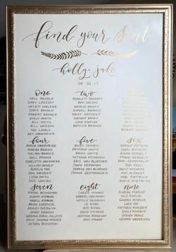 Gold Ornate Frame XL