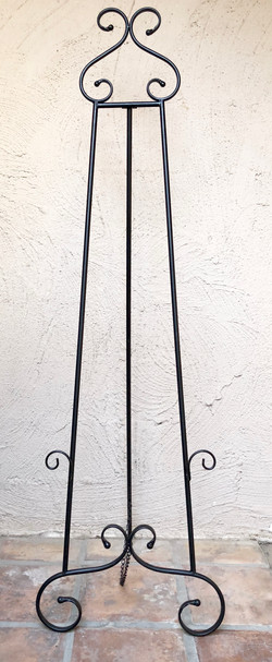 Black Standing Easel XL