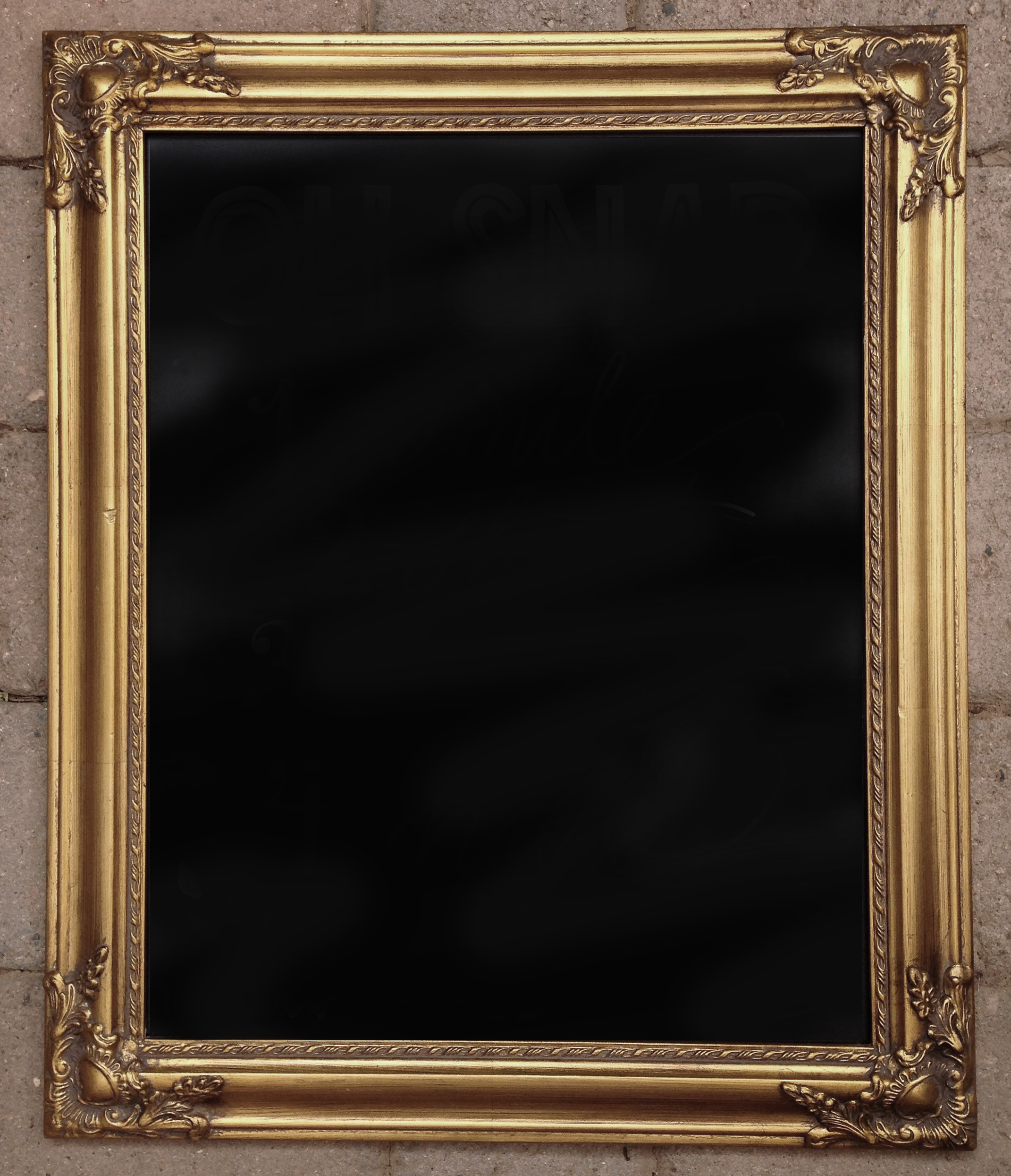 Ornate Gold Frame Sm
