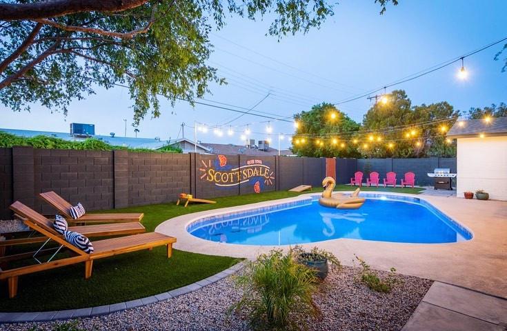 Que Viva Scottsdale - Backyard Mural