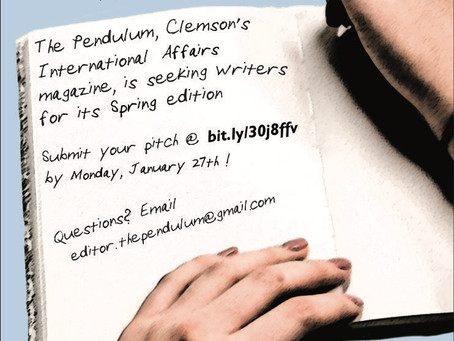 Submit a pitch for the Spring magazine!