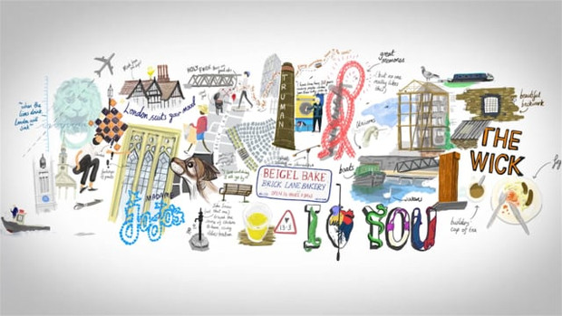 Mike Miles draws Londoner's London with Mischief on Wacom Cintiq Companion 2