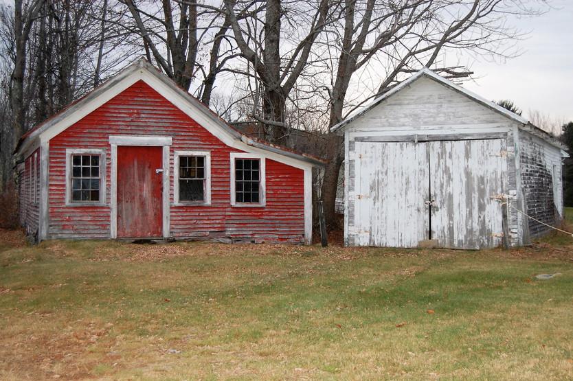 The Big White Farmhouse, Waterboro