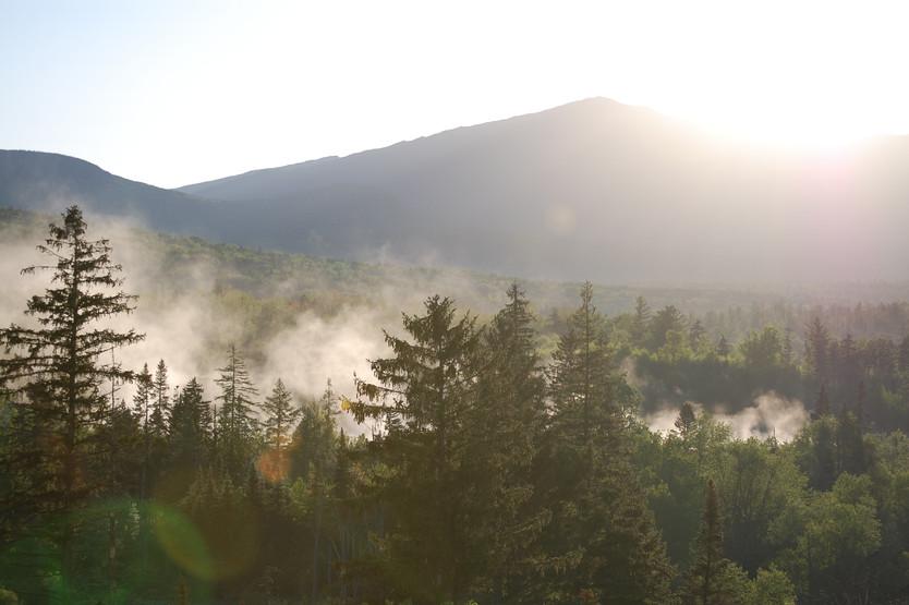 Evening at the Base of Mt. Washington, New Hampshire