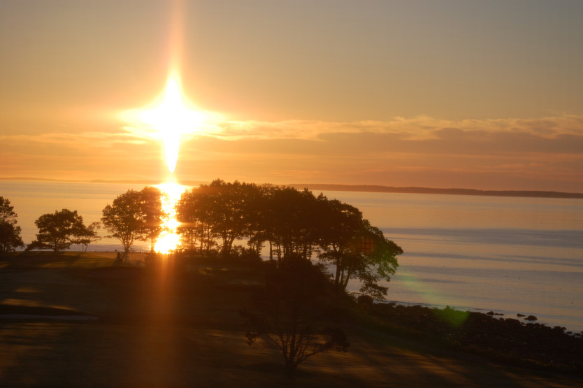 Spring Sunrise over Penobscot Bay