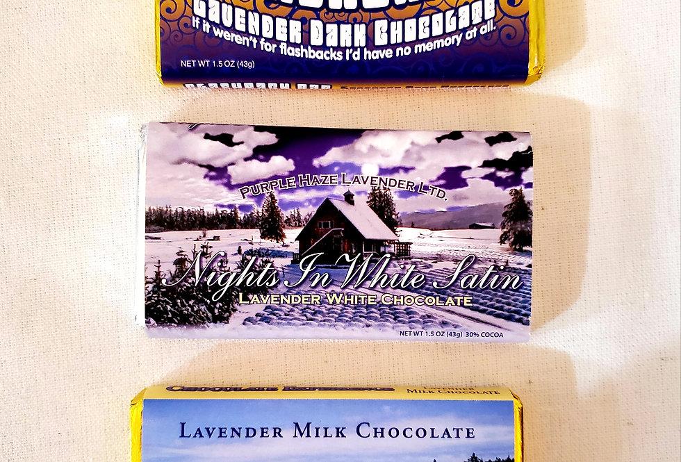 Lavender Chocolate Bar