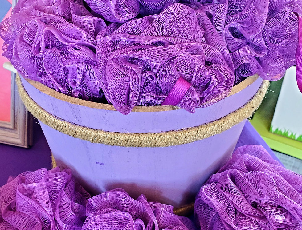 Purple Scrubby