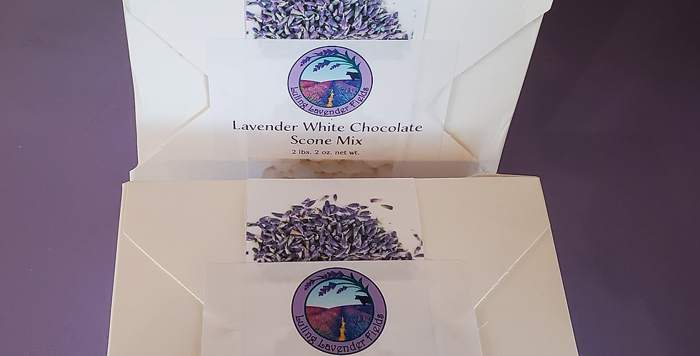 Lavender White Chocolate Scone Mix