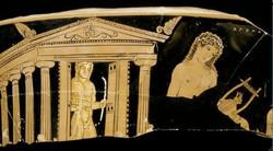 Apollon et temple