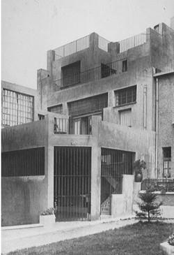 Exterior, rear façade