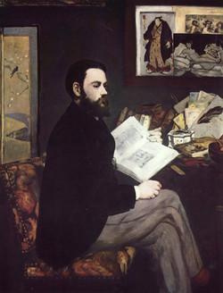 portrait d'Emile Zola, 1868