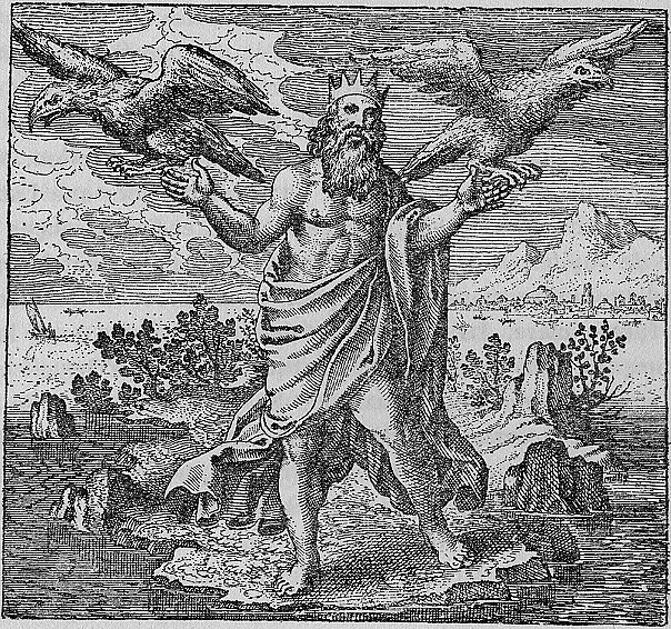 Zeus et les deux Aigles