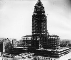 Los Angeles City Hall steel frame 1927