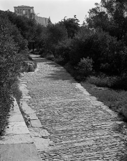 Acropolis pavement