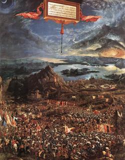 1529 La bataille d'Alexandre