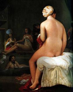 1820 La petite baigneuse