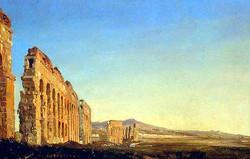 Ippolito_Caffi,_Acquedotti_nella_campagna_romana,_1843