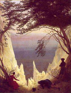 1818 Falaises calcaires à Rugen